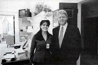 I did not have sexual relations, with that woman...