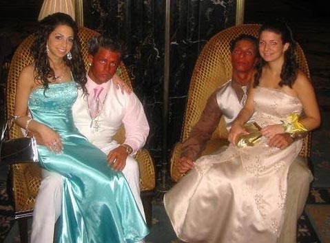 I have never been racist but ORANGE isn't the color of the guy I want taking my daughter to the prom...