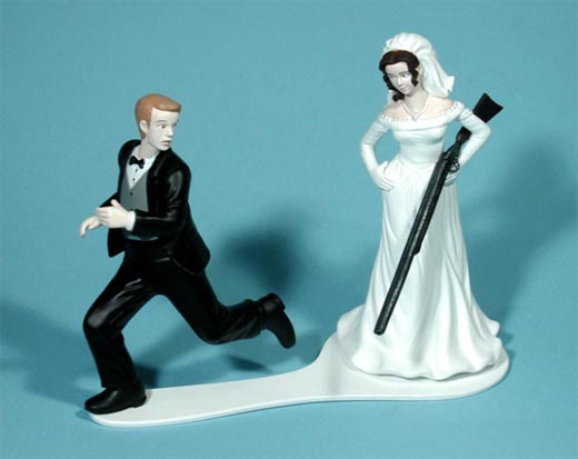 Marriage (or a shotgun) is what brings us together, today!