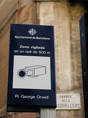 Loosely translated - Video Supervised area within a radius of 500 m.
