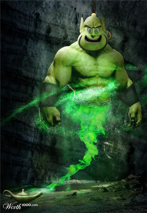 Hulk SMASH if you wish for more wishes!