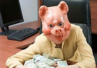 Money, money money, oink, oink, oink...
