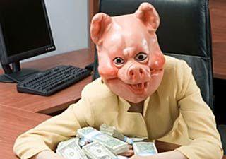 Money, money money, oink, oink, oink...