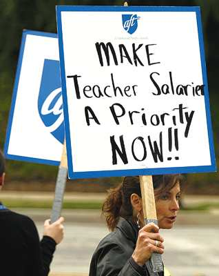 Teachers are underpaid and have way too much job security